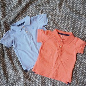 Lot of 2 Boys Polo Shirts